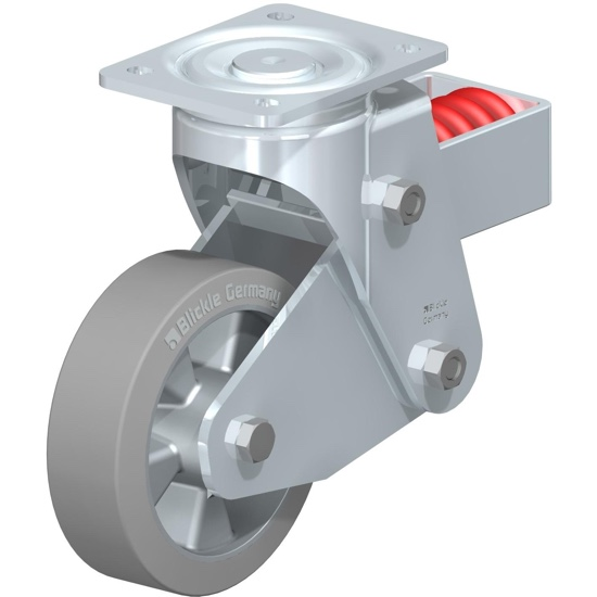 Spring-loaded Casters