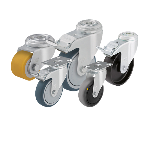 Wheels, Casters and Rollers