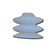 euroTECH Bellows Suction Cup BSC 62 E 2.5 folds (Silicone)