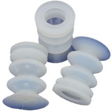 euroTECH Bellows Suction Cup BSC 50 FL (Silicone)
